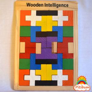 Tetris: Juego de encastre e ingenio en madera