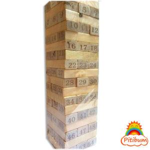 Jenga numérico 54 piezas grande