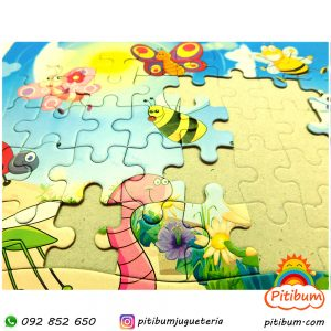 Puzzle de 40 piezas, diferentes modelos
