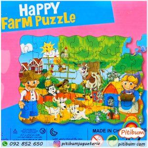 Puzzle, Rompecabezas, 45 piezas grandes