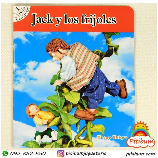 Libro de cuentos clásico con personajes de plasticina