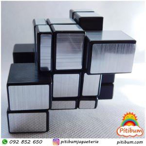 Cubo Rubik 3D Espejado – Plateado 3x3x3