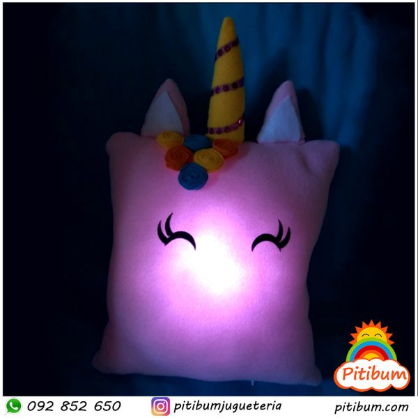 Veladoras Grandes de Unicornio con luz propia