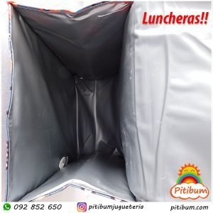 Lunchera: Para el almuerzo o la merienda! modelo nubes y arcoíris