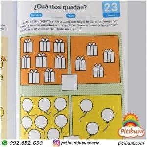 Libro de Actividades: Habilidad en Matemáticas Nivel 4