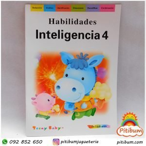 Libro de Actividades: Inteligencia Nivel 4
