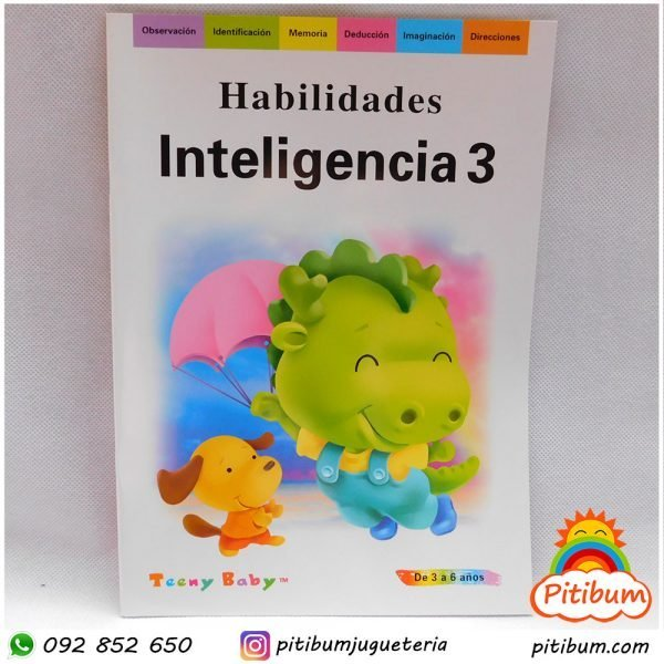 Libro de Actividades: Inteligencia Nivel 3