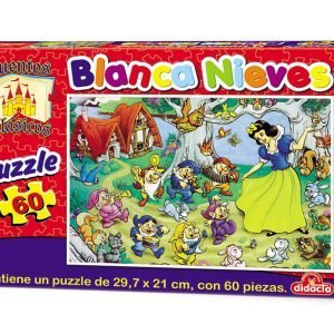Puzzle 60 piezas – Blancanieves