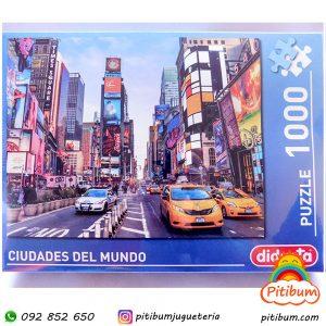 Puzzle de 1000 piezas, New York, colorido