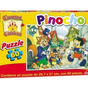 Puzzle de 60 piezas:  Pinocho