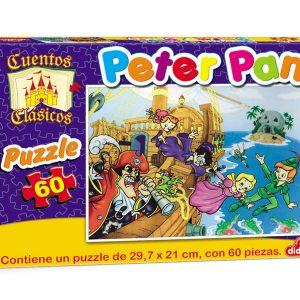 Puzzle de 60 pieza: Peter pan