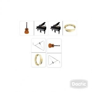 Dactic Dominó De Instrumentos Musicales