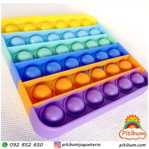No te quedes sin tu Pop it multicolor cuadrado!, Fidget toy de estrategia y sensorial. Ultimos!
