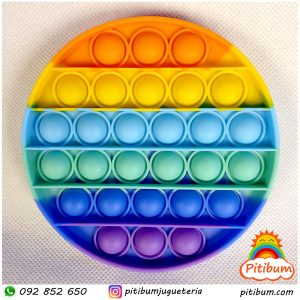 Pop it fidget toy, multicolor Redondo