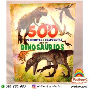 Libro: 500 preguntas y respuestas sobre Dinosaurios