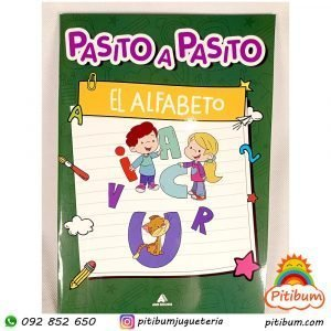 Libro didáctico con actividades: Aprendiendo El alfabeto