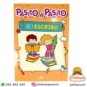 Libro didáctico con actividades:  Leo y Escribo