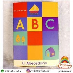 Tarjetas didácticas para aprender el abecedario