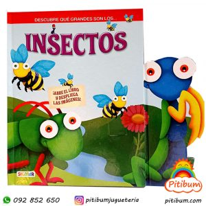 Libro grande para desplegar : Los insectos
