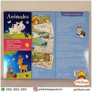Cuaderno de actividades: Animales de la selva.