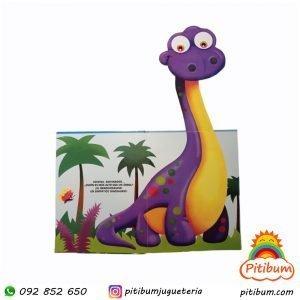 Libro grande para desplegar : Dinosaurios