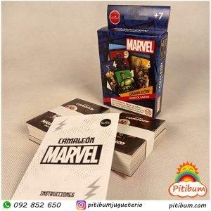 Juego de Cartas Marvel Camaleón