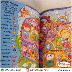 Libro didáctico Busca y encuentra 500 imágenes: Fantasía