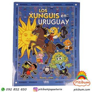 Libro de actividades: Los Xunguis en Uruguay